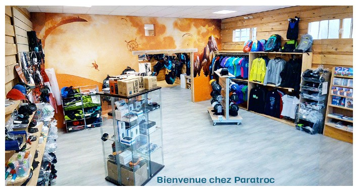 Paratroc - La Boutique Parapente - New and used
